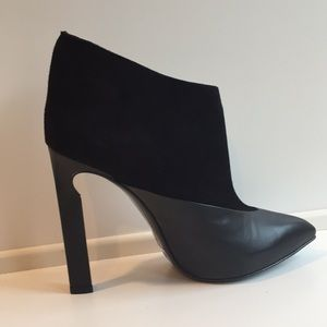 Jimmy Choo black heeled ankles boots
